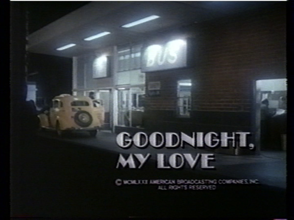Goodnight My Love Tv 1972 Dvd Modcinema